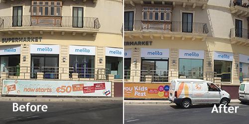 Melita's outlet in Naxxar, Malta