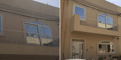 Modern house in St. Lucia, Malta